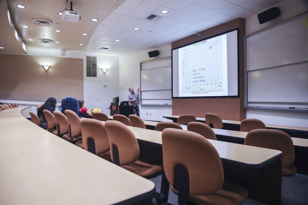 Professor Matthew Kirby teaches