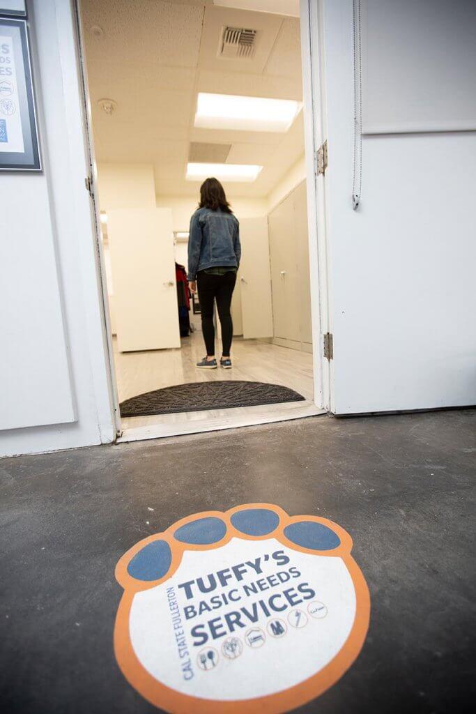 The entrance to Tuffy's Basic Needs